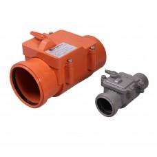 Обратный клапан Д 110мм (1рез)