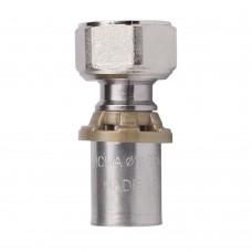 Пресс-фитинг SEMPITER® c вращающейся гайкой для подключения к плоскому седлу. ICMA арт.416